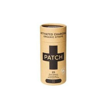 Patch Organic Bamboo Band Aids, 25 Pack - 4 Types