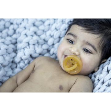 Natural Rubber Soother/Dummy - 2 Shapes, 3 Sizes