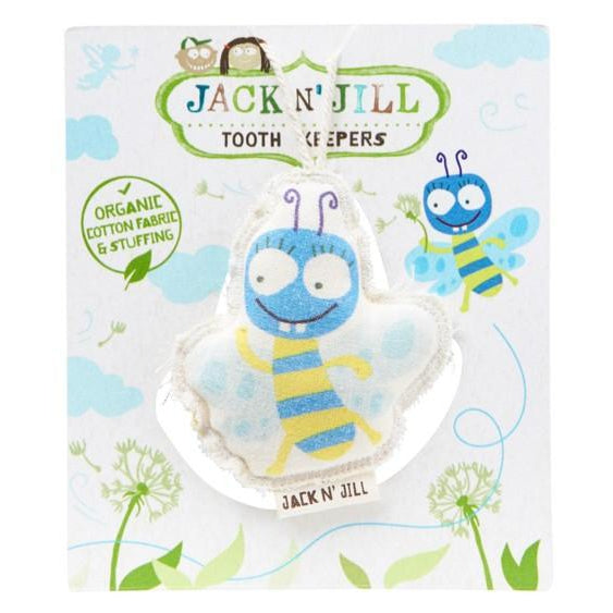 Jack N' Jill Organic Cotton Tooth Keeper - 6 Characters