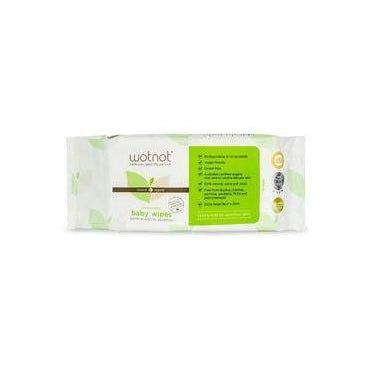 Wotnot Biodegradable Baby Wipes, Pack of 70