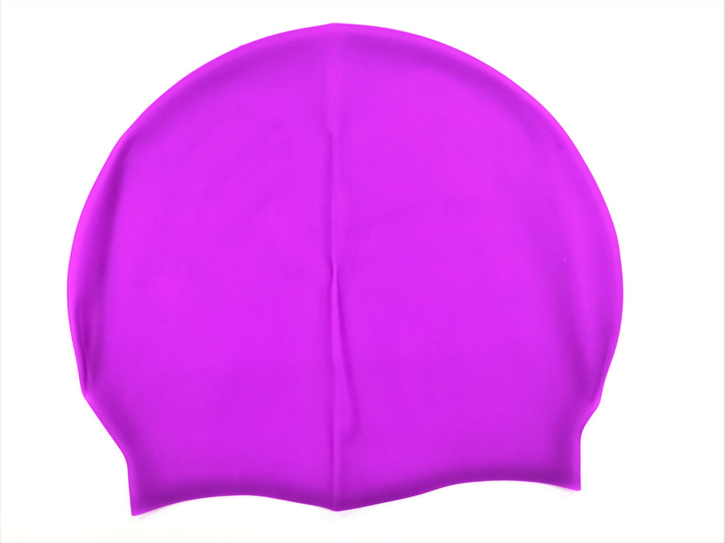 Flexible & Durable Waterproof Silicone Swimming Cap - 10 x 2 Piece Set
