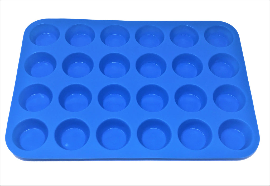 Silicone Cupcakes, Muffin Baking Pan 24 Holes - 10 x 2 pcs Set