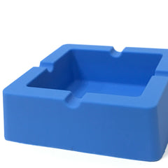 "Great Looking Durable Silicone Square Ash Tray 3.4"" x 3.4"" x 1.10"" - 1 Pc"