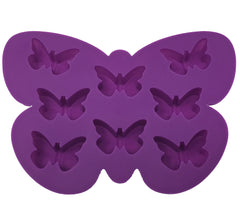 Silicone Butterfly Shape Ice Mold Tray -25 Pcs