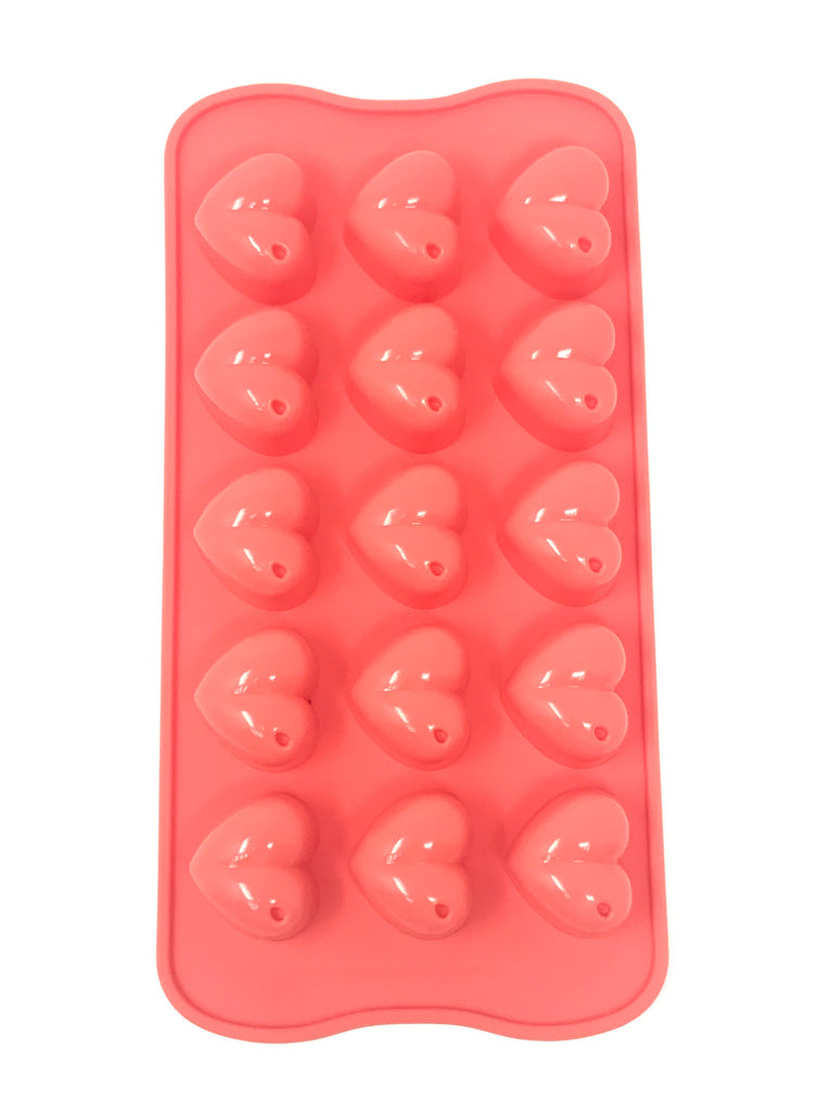 Silicone Heart Shape Chocolate , Candy Mold - 10 x 2 pcs Set