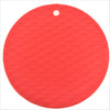 Silicone Round Knit Cup Hot Pad 6 x 4 Pcs Set