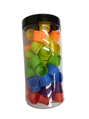 Reusable Silicone Wine Bottle Cap 56 Pcs Jar