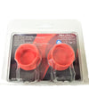 Reusable Silicone Wine Bottle Cap 2 pcs each - 25 x 2 Set