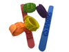 Fancy looking Silicone Wrist Strap Blister Package 50 x 1 pc Set