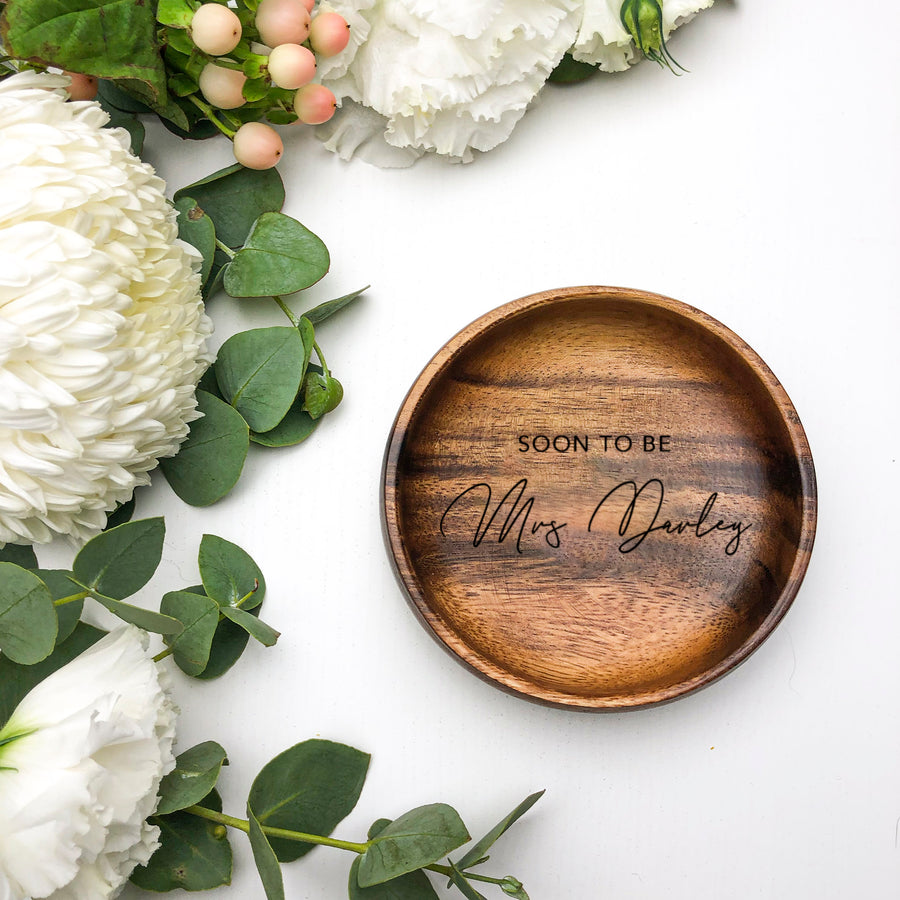 Ring Dish | Wooden