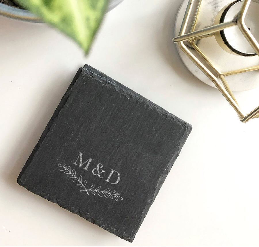 Slate Coasters | Set of 4