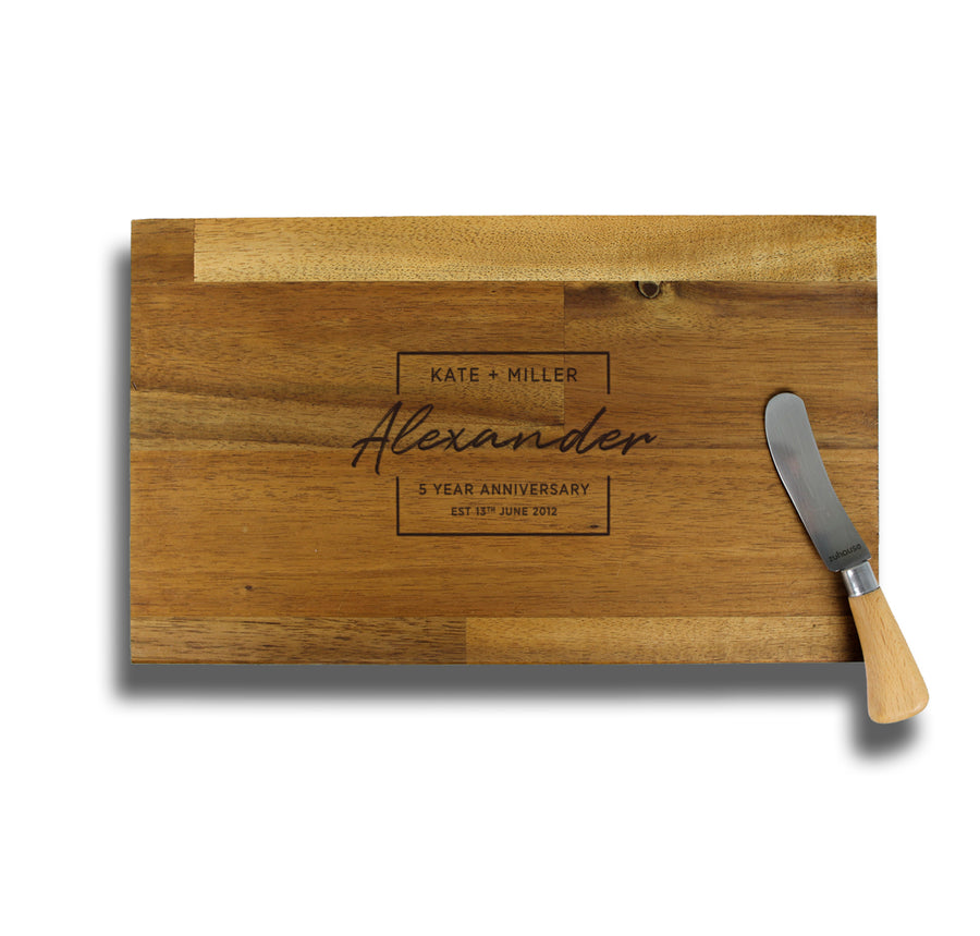 Chopping Board | Acacia - Stained