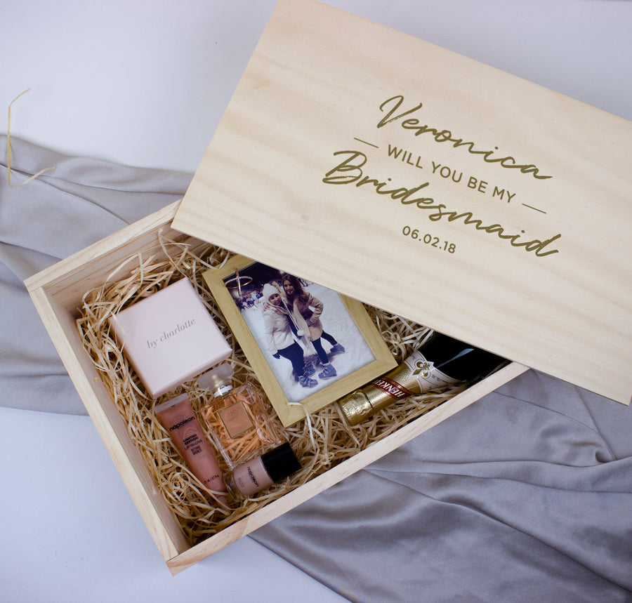 Wooden Giftbox | Large | Wood Lid