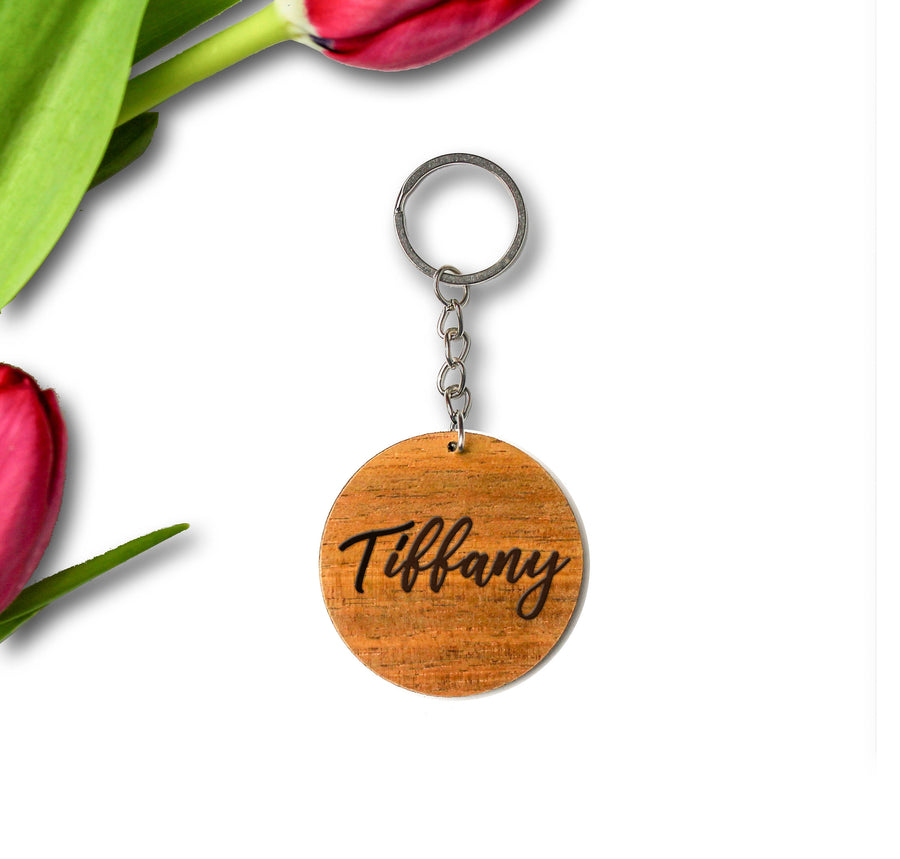 Timber Keychain | Tasmanian Blackwood
