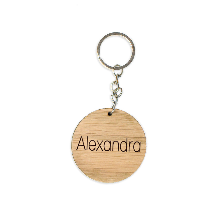 Timber Keychain | Tasmanian Oak