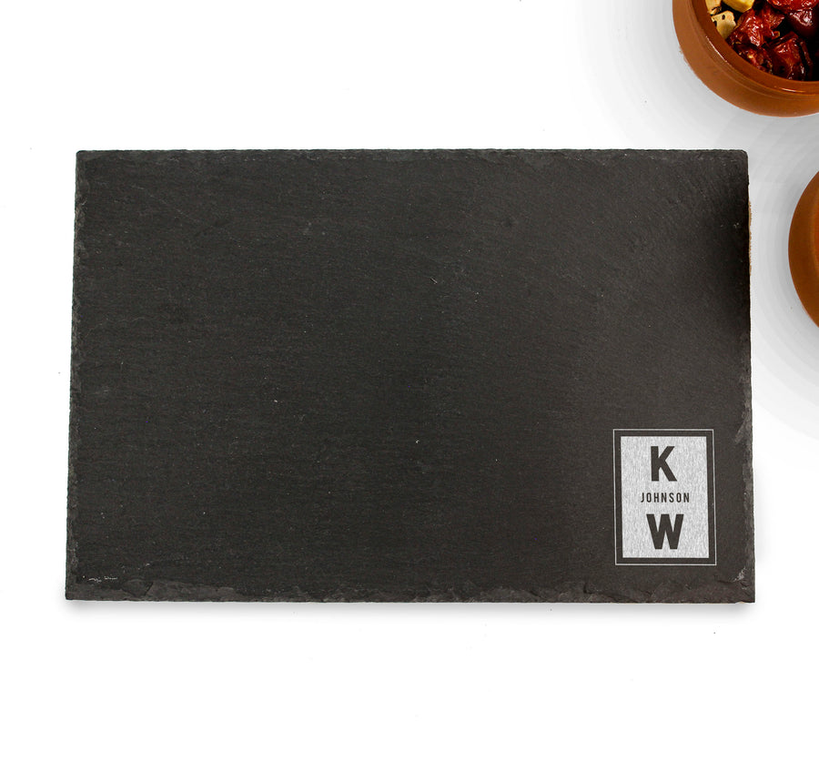 Rectangle Serving Board | Slate