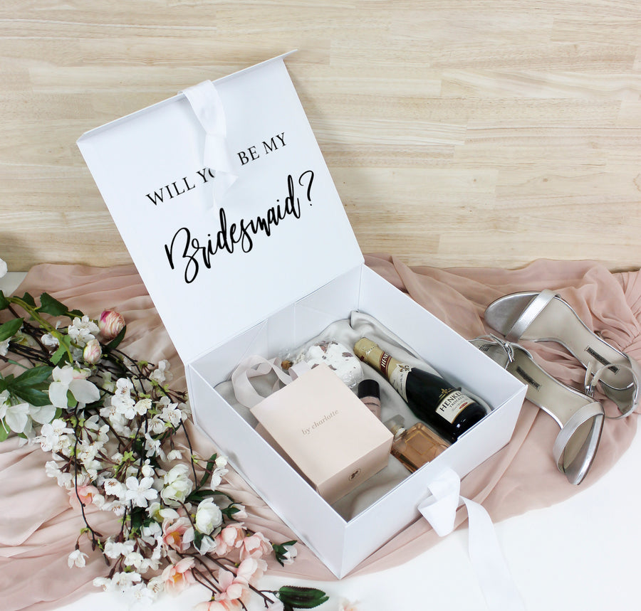 White Cardboard Gift Box | Small