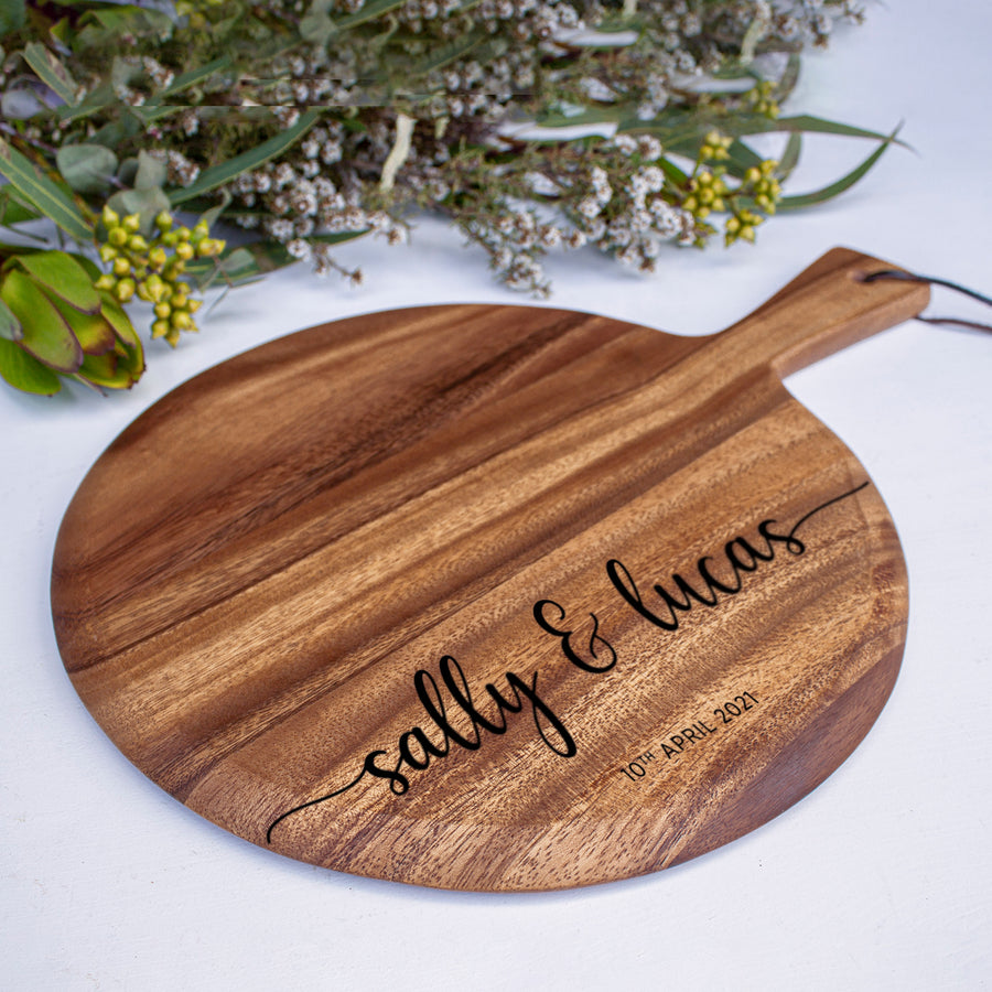 Round Serving Board | Wooden