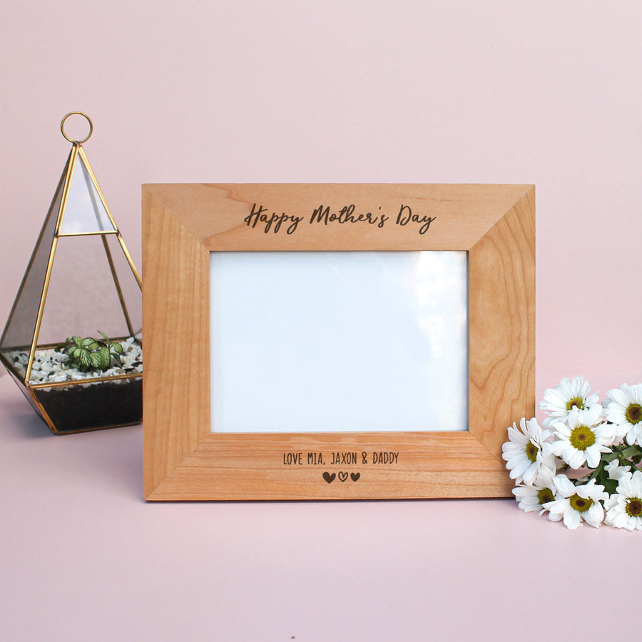 Personalised Photo Frame | Mother's Day | Medium 5x7