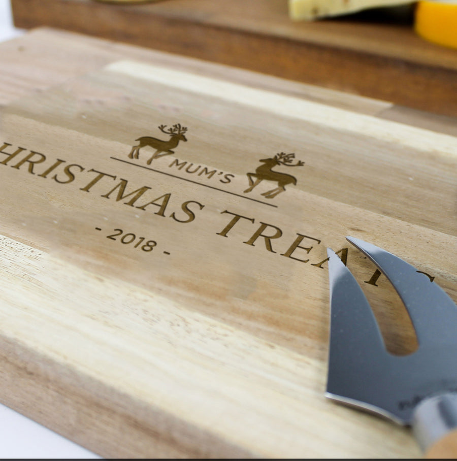 Chopping Board Christmas | Acacia