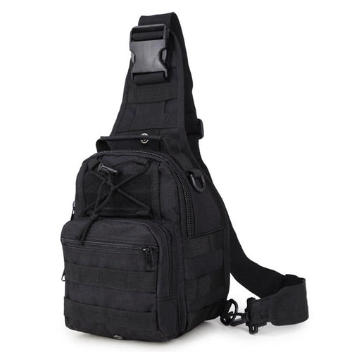 Men Crossbody Military Shoulder Bags Outdoor Sports Cycling Chest Pack Molle Multifunction Tactical Messenger Bag
