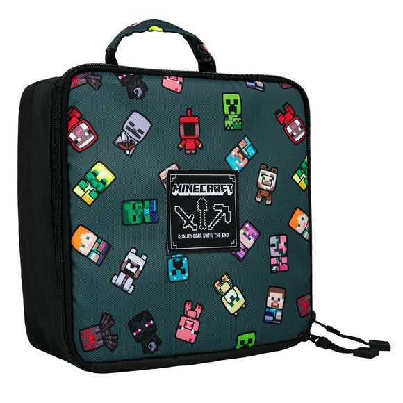 Lunch Box Minecraft, Bobble Mobs, Gray