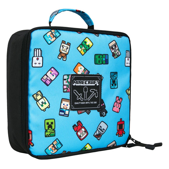 Lunch Box Minecraft, Bobble Mobs, Blue