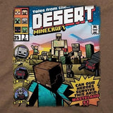 Tricou cu maneca scurta pentru copii, Minecraft Tales from the Desert - Heather Brown
