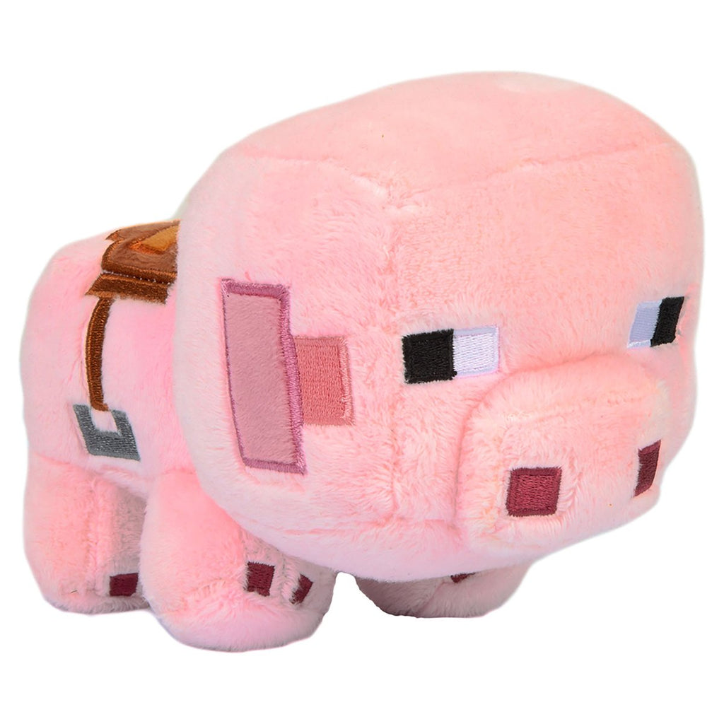 Plus Minecraft Happy Saddled Pig