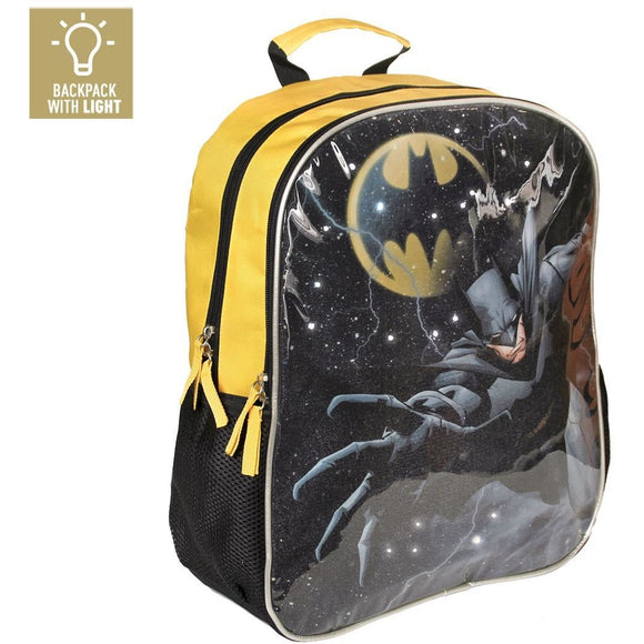 Ghiozdan Batman NEW, ORIGINAL, licenta Cerda, 41 cm