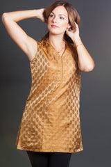 Golden Teardrops Tunic