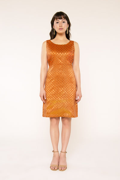 Fiery Dew Drops Dress