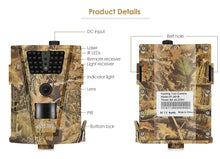 HD Hunting Trail Camera With GPRS and Nightvision