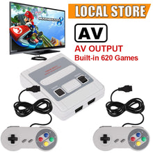 Classic SNES style retro games console with over 600 built in games