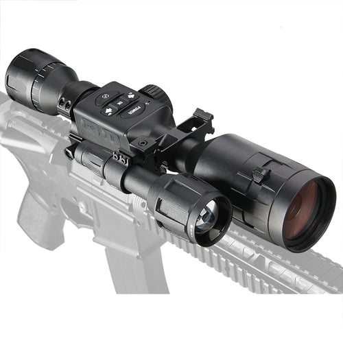 3 X 12 Day And Night Vision Hunting Rifle Scope With Bluetooth and WIFI