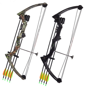 Aluminium Alloy Hunting Bow and Arrow Set