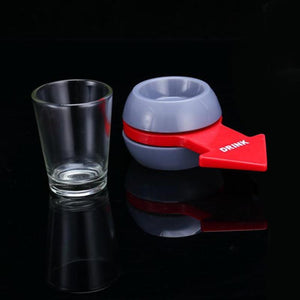 FREE, PAY ONLY SHIPPING, Spin the Shot Drinking Game With Shot Glass.