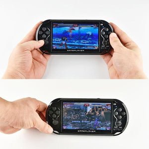 PSP Style Handheld Games Console, 5 inch screen and over 2500 built in classic games.