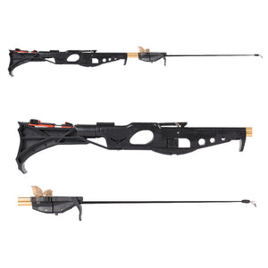 Fishing Spear Gun / Sling Shot With Laser Sight, Reel, Arrows and Ammo