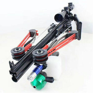Multi load Semi Auto Fishing and Hunting Spear Gun/Catapult.