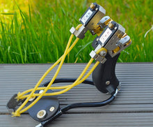 High Powered Hunting Slingshot With Case.