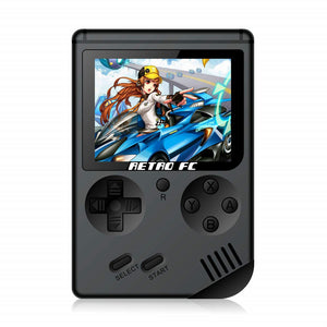 Retro Hand held games console with 168 built in games