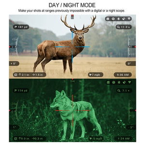 3 X 14 High Quality HD Digital Tactical Hunting Scope with GPS and WIFI