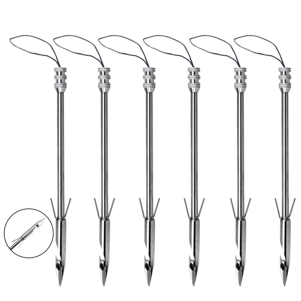 Pack Of 6 Sling Shot Hunting Arrows
