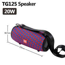 TG118 High Power 40W Bluetooth Speaker Waterproof Portable Column For PC Computer Speakers Subwoofer Boom box Music Center Radio