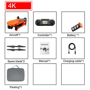 SHAREFUNBAY ICAT7 Drone 4k 8k GPS 5G WiFi two axis gimbal camera brushless motor supports TF card flight for 25 min VS sg906 pro