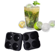 Whiskey Ice Ball Mould Makes 4 Large Ice Cubes.
