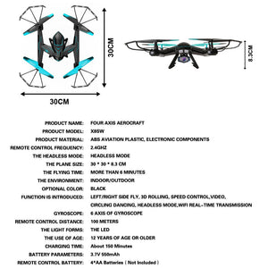 X8SW Drone with HD Camera.