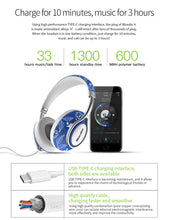 NEW Stylish Bluedio A2 Bluetooth Headphones.