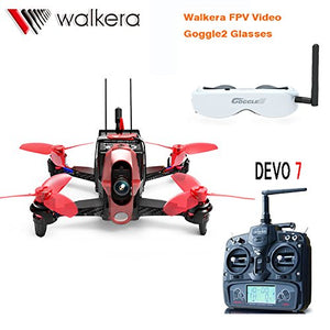 Professional Racing Drone With Head Tracker Goggle2, Charger And 600TVL Camera